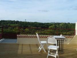 terrasse Panoramique sur les vignes et les coteaux de la Sèvre Nantaise