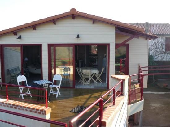 terrasse maison d'hôtes